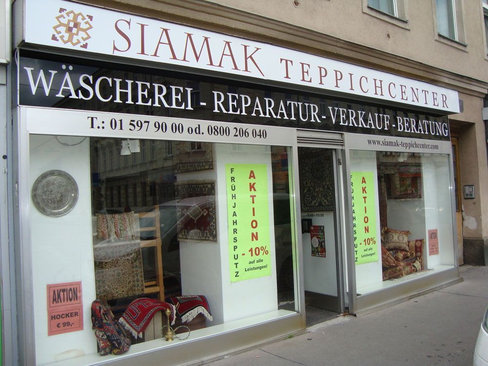 Teppichcenter SIamak in Wien